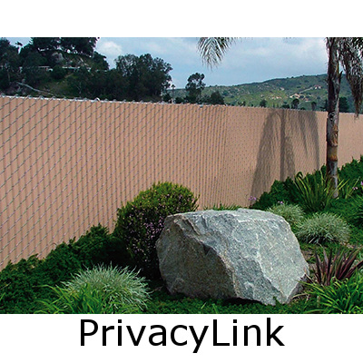 chain link fence with prewoven fence slats - Chain Link Fence Slats